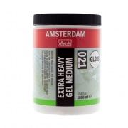 AMSTERDAM EXTRA HEAVY GEL MEDIUM GLOSS 021 1000 ml