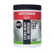AMSTERDAM EXTRA HEAVY GEL MEDIUM MATT 022 1000 ML