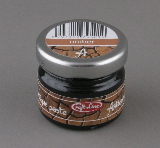 ANTIQUE PASTE 20 ML UMBER (BRĄZ) CRAFT LINE