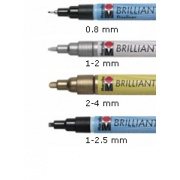 Brilliant Painter 2-4 mm 031 CZERWONY
