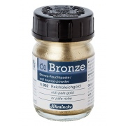BRONZE Schmincke 50ml rich pale gold