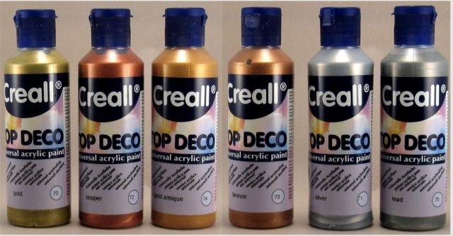 Farba akrylowa - 80ml Top Deco CREALL