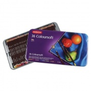 DERWENT KREDKI COLOURSOFT 36 SZT.