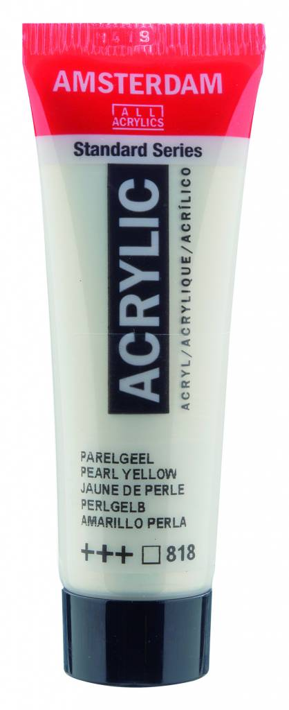 Farba akrylowa TALENS SPECIALITIES AMSTERDAM 120ml 818 PERL YELLOW