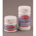 Lakier matowy 100 ml - varnish matt CRAFT LINE