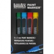 LIQUITEX Paint Marker Fine Set 6 szt