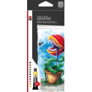 MARABU GRAPHIX AQUA COLOUR 12 X12ML