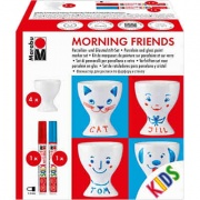 Marabu Porcelain for Kids - Morning Friends