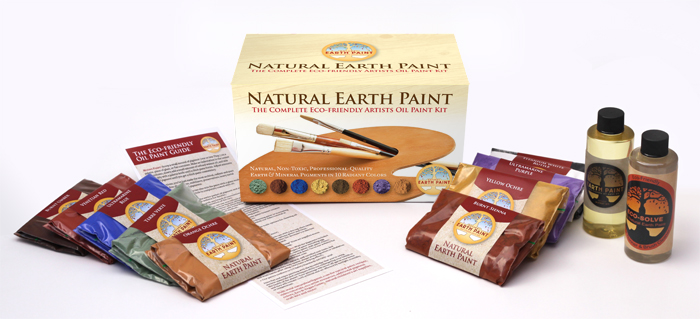 Natural Earth Paint - Oil Paint Kit