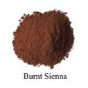 Natural Earth Paint - Oil Pigment - Burnt Sienna 80g