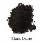 Natural Earth Paint - Oil Pigment - Black Ochra 80g