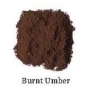 Natural Earth Paint - Oil Pigment - Burnt Umber 80g
