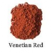 Natural Earth Paint - Oil Pigment - Venetian Red 80g