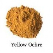 Natural Earth Paint - Oil Pigment - Yellow Ochra 80g