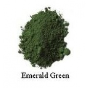 Natural Earth Paint - Oil Pigment - Emerald Green 80g
