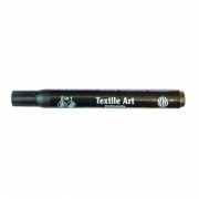 NERCHAU TEXTILE ART PAINT PEN BLACK - Marker do tkanin czarny