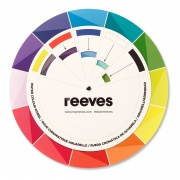 REEVES COLOUR WHEEL WATERCOLOUR