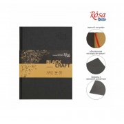 ROSA SKETCHBOOK STUDIO A5 BLACK & CRAFT