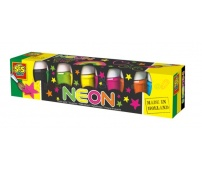SES Farby plakatowe 6x45 ml NEON