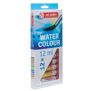 TALENS ACADEMIA COLOR WATER COLOUR SET 12x12ml
