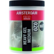 AMSTERDAM HEAVY GEL MEDIUM MATT 020 1000 ml