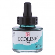 TALENS ECOLINE 30 ml 661 - TURQUISE GREEN - koncentrat farby wodnej