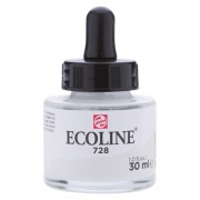 TALENS ECOLINE 30 ml 728 - WARM GREY LIGHT - koncentrat farby wodnej