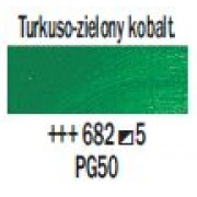TALENS REMBRANDT 40ML 682 - COBALT TURQUOISE GREEN - farba olejna