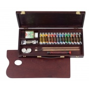 TALENS REMBRANDT ROC BOX TRADITIONAL - 16 farb w kasecie + media + akcesoria