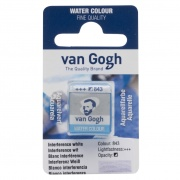 TALENS VAN GOGH WATER COLOUR PAN INTERFERENCE WHITE