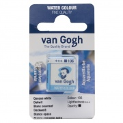 TALENS VAN GOGH WATER COLOUR PAN WHITE EXTRA OPAQUE
